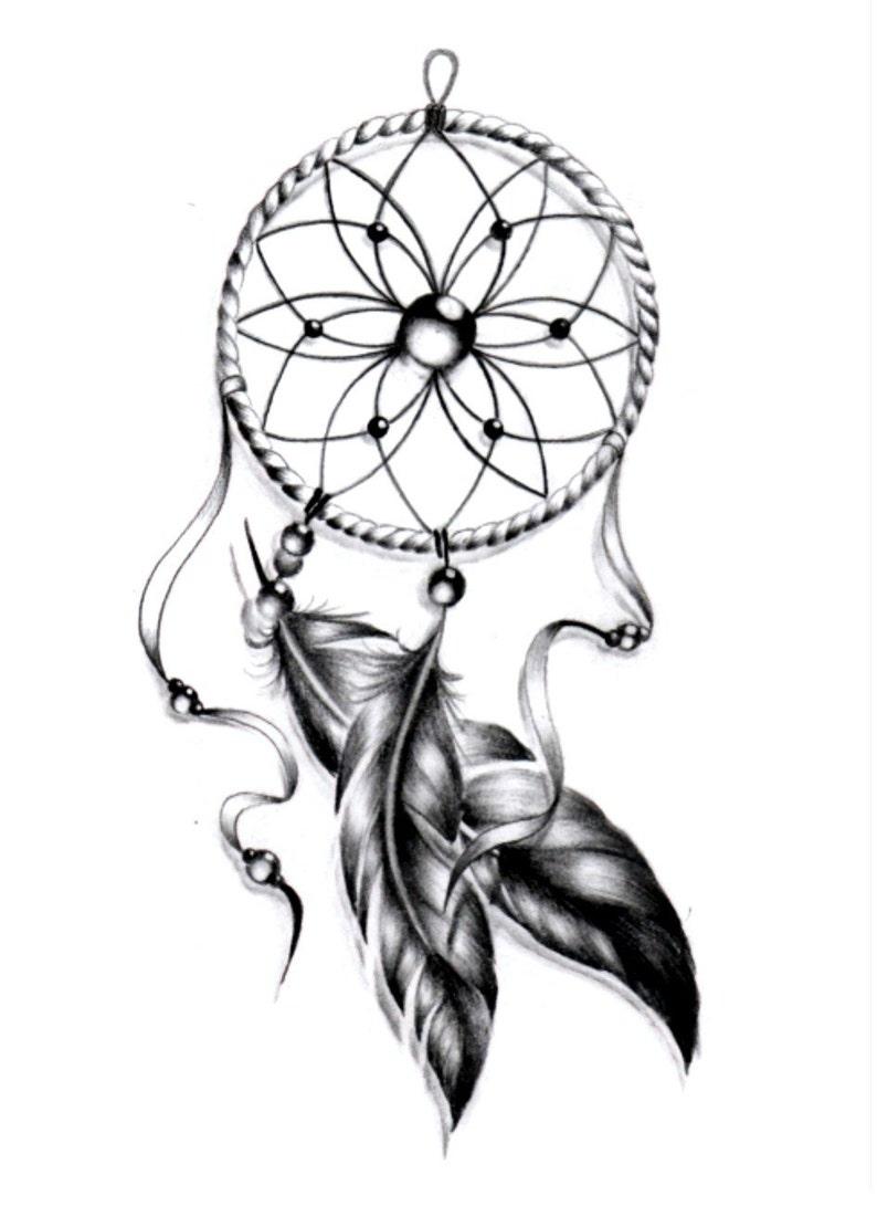 Sets dream catcher temporary tattoos image 0