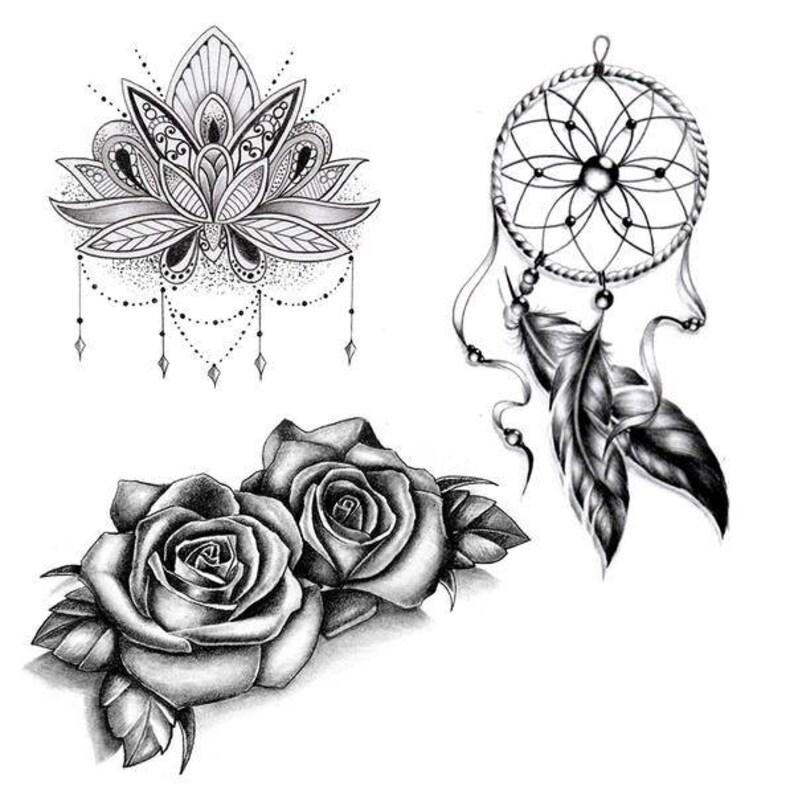 6 Temporary Tattoos image 0