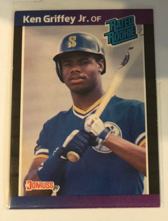 Ken Griffey Jr Donruss 1989 Rookie Card 33