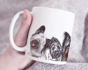 Skye Terrier Boots  Gift for Skye Terrier Lovers Skye Terrier Mom Skye Terrier Dad Skye Owners PP694 Available In Women And Men Sizes