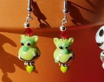 Halloween Earrings - Ogre