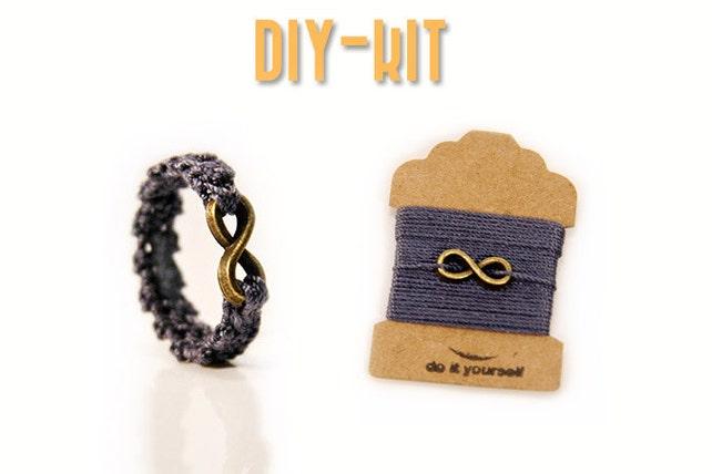 DIY Ring Kit Häkel Set Ring häkelanleitung kostenlos | Etsy