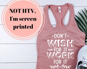 Hustle and Grace Racerback Tank Fitness shirt / Workout Shirt / Fitness Tank / Fitness Tank Top / Workout Tank Tops with Sayings