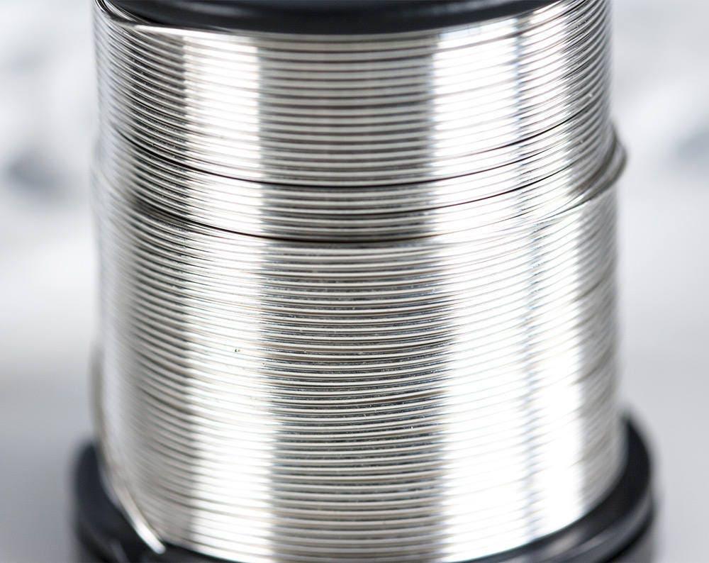 2573_Silber 925 Draht 0.6 mm Draht 22 Gauge Runde Draht | Etsy