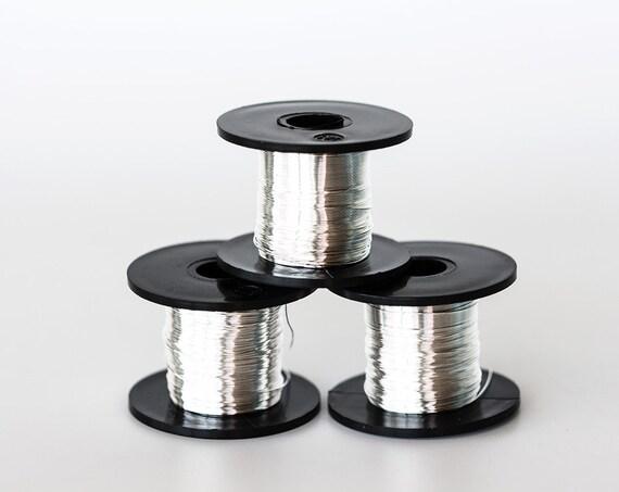 1738 28 Meter Zilver Draad Sieraden Wire 0315mm Zachte Draad Etsy