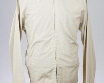 ON SALE Vintage 60s/70s JC Penney Taupe Herrington Coat/Jacket Mens L SJqgDl8D