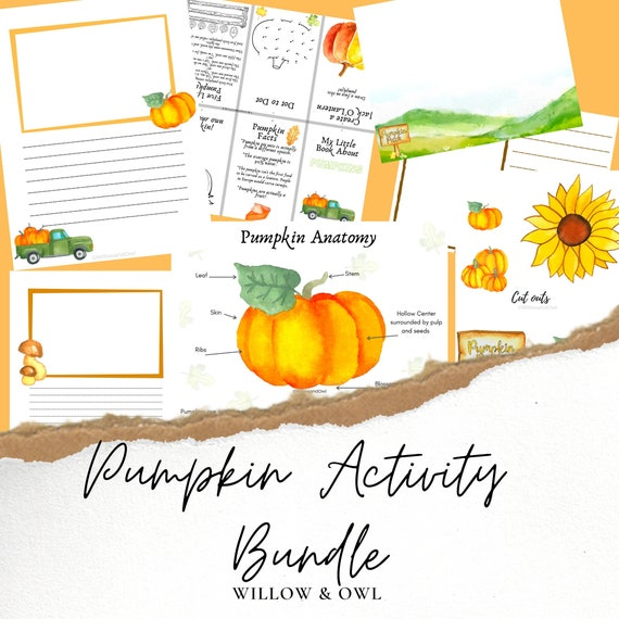 Pumpkin Activity Bundle with Fall Projects STEM activities