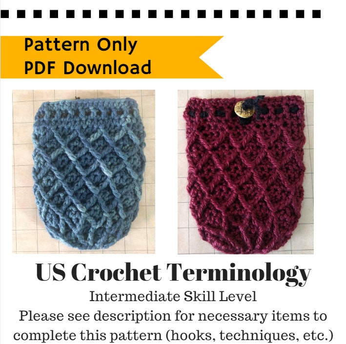 PATTERN: Dice Bag Dragon Egg, crochet pattern drawstring bag ...