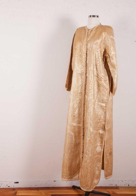 Vintage Brocaded Moroccan Caftan, coat , jacket 19