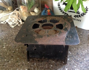 Vintage Portable Sterno Cook Stove