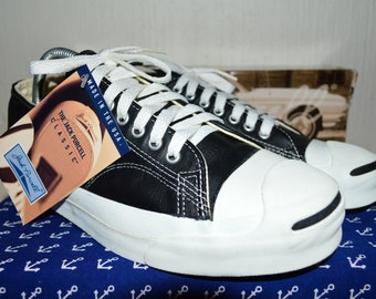 881e77d5e2ff8d converse jack purcell vintage rare leather deadstock og made in usa 9 NWB