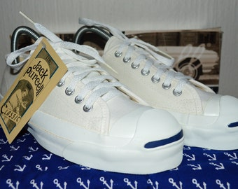 dc91ca457c96c5 Converse jack purcell canvas Vintage Rare Deadstock og MADE in USA 6.5 NWB