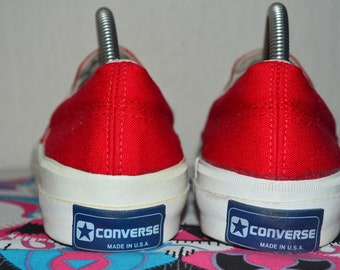 5aa0dcef0f14c9 Converse Skidgrip deck shoe 80 s canvas vintage rare deadstock nos made in  usa 8.5 nwob