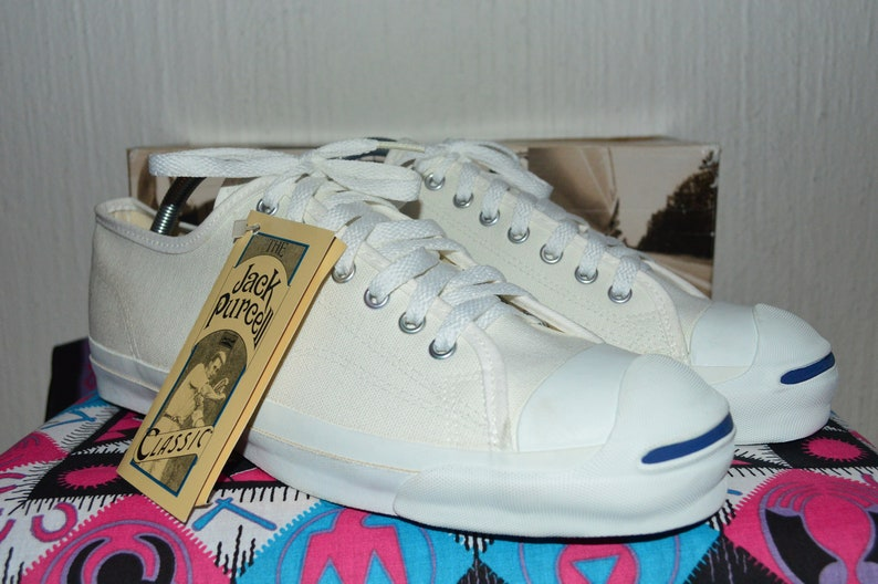 6583408ec9b5db Converse jack purcell vintage rare canvas deadstock og made in