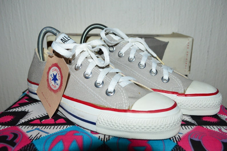 a0fffa7341fccb Converse all star vintage rare canvas deadstock og made in usa