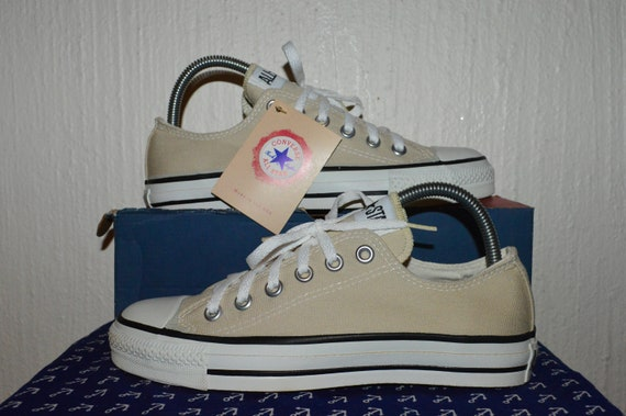 converse all star vintage rare canvas deadstock og made in usa 5.5 nwb