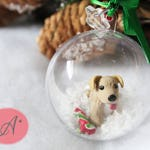 Customization of your pet, Christmas ball pet, hedgehog ornament, christmas decoration, animal choice, made to order