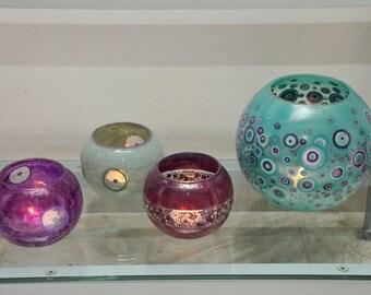 Custom Hand Painted Vases