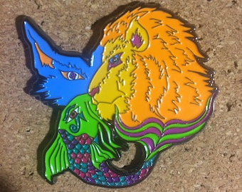 Animal Head Pin