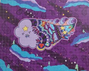 Paisley Time Pt: 4 Blotter Art Print, Lumpy Space Princess