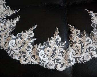 4968733c355f0 Floral lace trim | Etsy