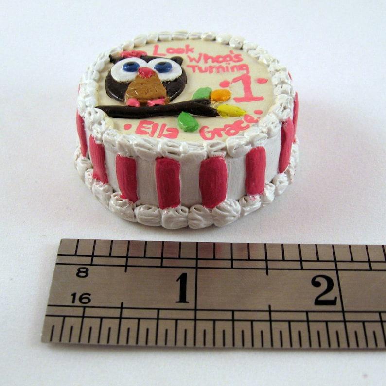 Incredible Custom Tiny Birthday Cake Ornament Etsy Birthday Cards Printable Opercafe Filternl