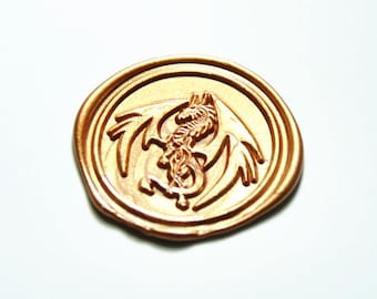 Custom design Bone Dragon Wax Seal stamp invitation wax seal stamp wedding stamp gift wrapping wax seals