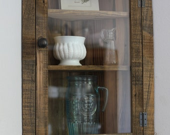 Wonderful Tall Corner Cabinet With Doors Concept