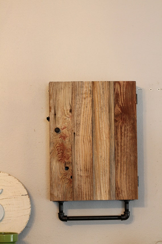Bathroom Wall Cabinet Rustic Medicine Cabinet Reclaimed Wood Etsy