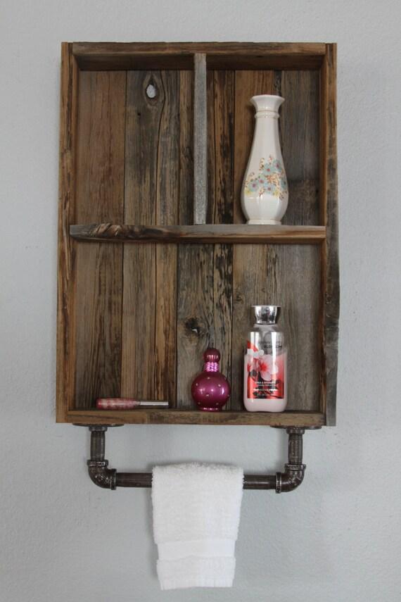 Reclaimed Wood Shelves Medicine Cabinet Wood Shelves | Etsy