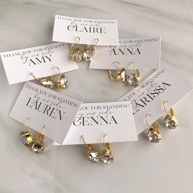 Wedding jewelry dewdrop earrings blush pink earrings teardrop earrings