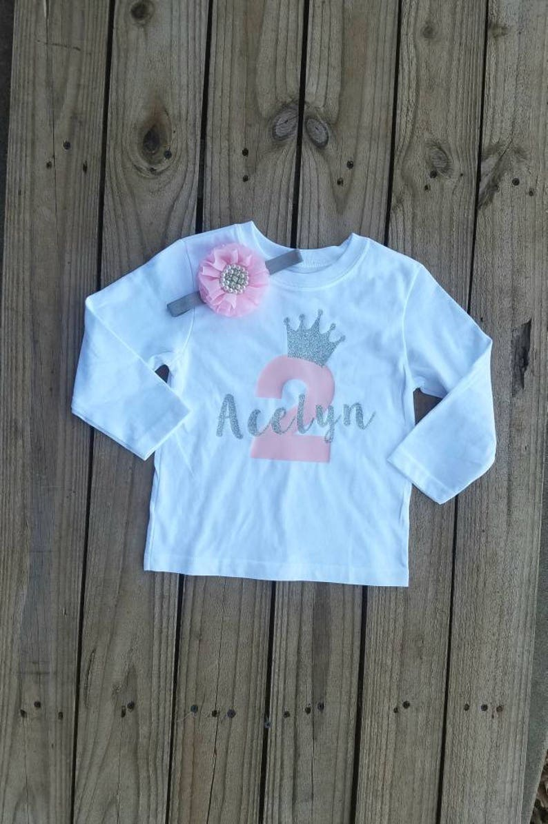 e64ee8256 Two-Year Old Girl Birthday Outfit 2 Year Old Birthday Party | Etsy