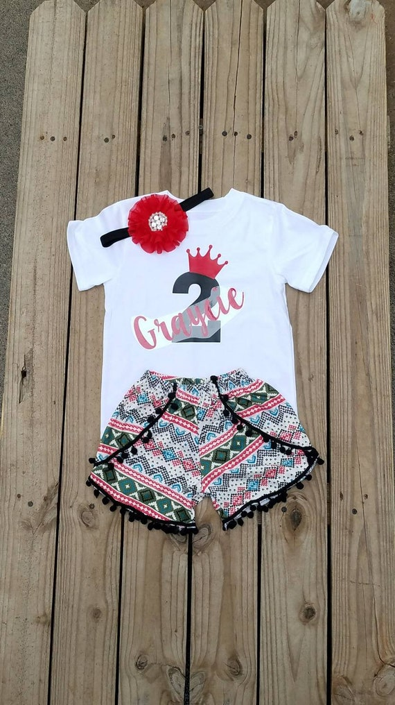 2 Year Old Birthday Girl Outfit Two Girls