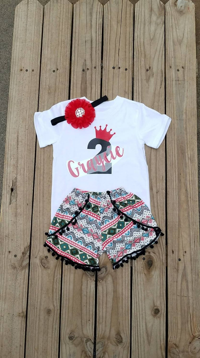 ab5e6fa3a 2 Year Old Birthday Girl Outfit Two Year Old Birthday Girls | Etsy