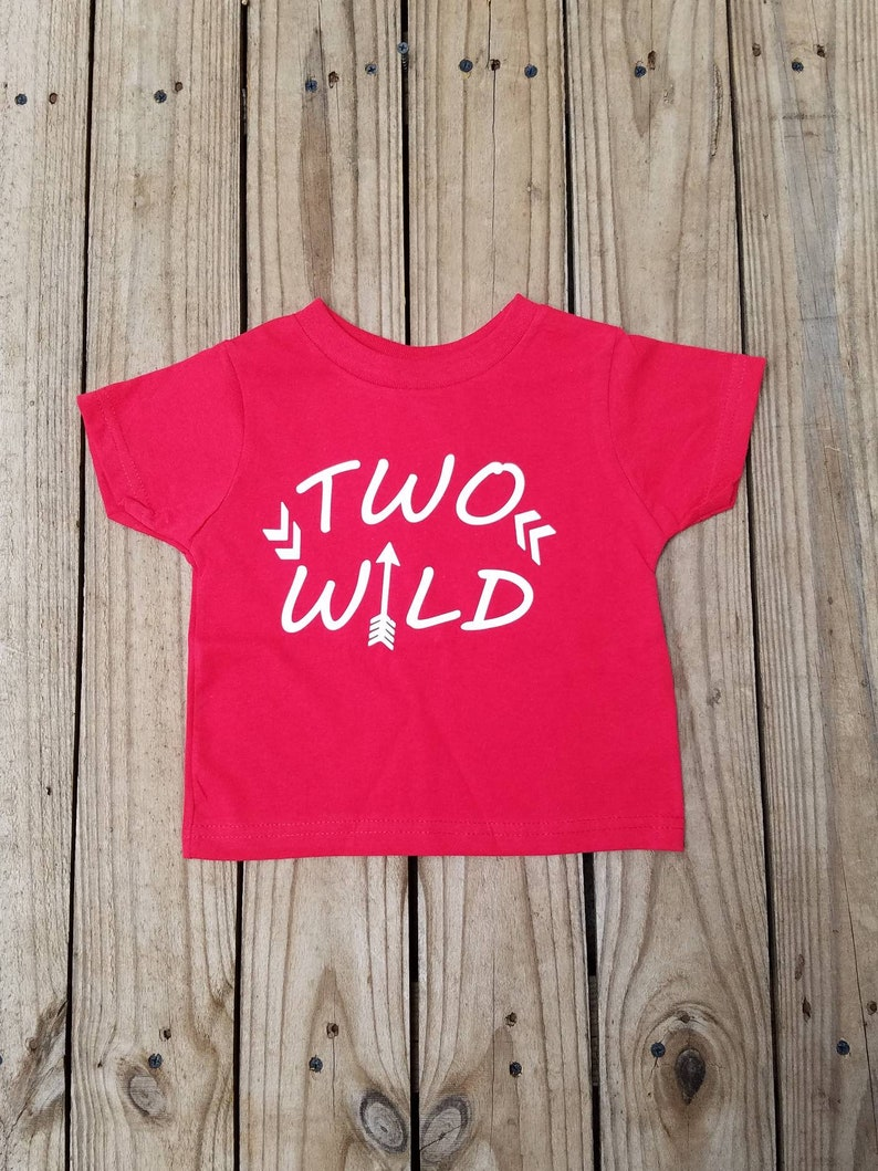 Two Wild 2 Year Old Birthday Shirt Boys 2nd Party
