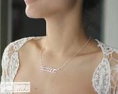 Custom Handwriting Jewelry • Handwriting Necklace • Personalized Signature Keepsake GIFT • Memorial Meaningful Gift • Mother's Gift • NH01 photo