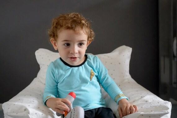 image 0  sc 1 st  Etsy & Star Trek uniform Star Trek baby Spock Halloween costume | Etsy