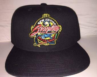 29417103367 Vintage New Mexico Scorpions Hockey Snapback hat cap CHL rare 90s minor  league deadstock