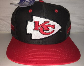 adb2d0c3602 Vintage Kansas City Chiefs Snapback hat cap Competitor rare 90s nwt NFL  Football deadstock