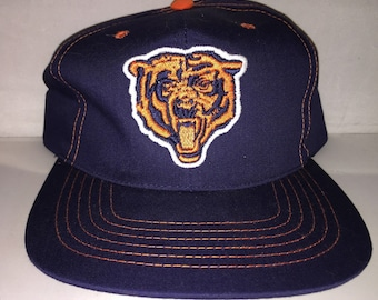 34ee4d7c89e30 Vintage Chicago Bears Snapback hat cap rare NFL football defense ditka  walter payton 90s new without tags