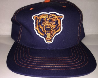 f9e51d9bcd486 Vintage Chicago Bears Snapback hat cap rare NFL football defense ditka  walter payton 90s new without tags