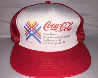 bab9f431b Coca cola snapback | Etsy