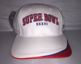 Vintage New England Patriots Superbowl adjustable hat cap Tom Brady rare  deadstock cbd228075