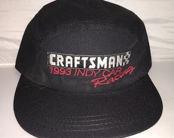 40cfe5bfd56 Vintage Craftsman Racing Indy car 90s 5 panel Snapback hat cap deadstock supreme  rare made in usa