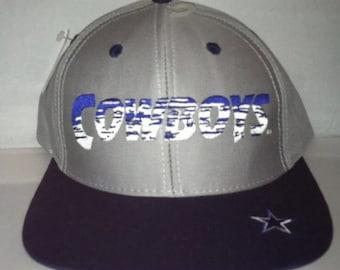 Vintage Dallas Cowboys Snapback hat cap rare 90s deadstock NFL football  tony romo dez bryant 22ec55458