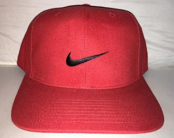aeb56634311 Vintage Nike Snapback bulls hat cap rare 90s og jordan air max force  supreme acg