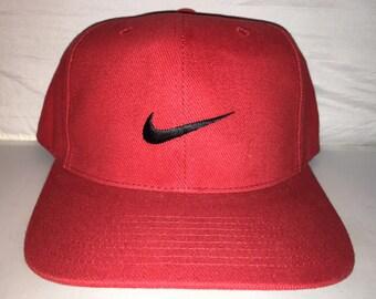 fcc56b9871d Vintage Nike Snapback bulls hat cap rare 90s og jordan air max force  supreme acg