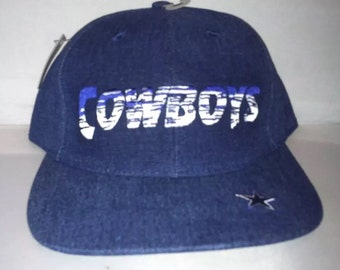Vintage Dallas Cowboys Snapback hat cap nwt 90s Annco deadstock aikman NFL  football romo 140673a91