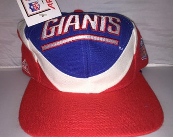 Vintage New York Giants Snapback hat cap rare 90s NWT NFL Football Apex One  eli manning 54d989b93