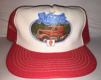 Vintage Kenworth K Whopper Snapback hat cap rare trucker 80s MADE IN USA  big rig long haul 2ae0211069e